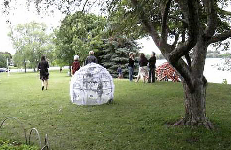 AYAANDAGON: OUTDOOR ART INSTALLATIONS IN AN ANISHINAABE GARDEN