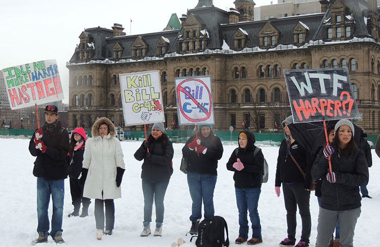 BILL C-45: THERE'S A DUTY TO CONSULT