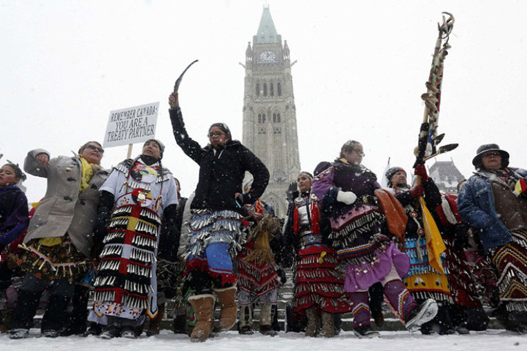 IDLE NO MORE: PENETRATES SHALLOW 'CANADIAN' NATIONAL IDENTITY