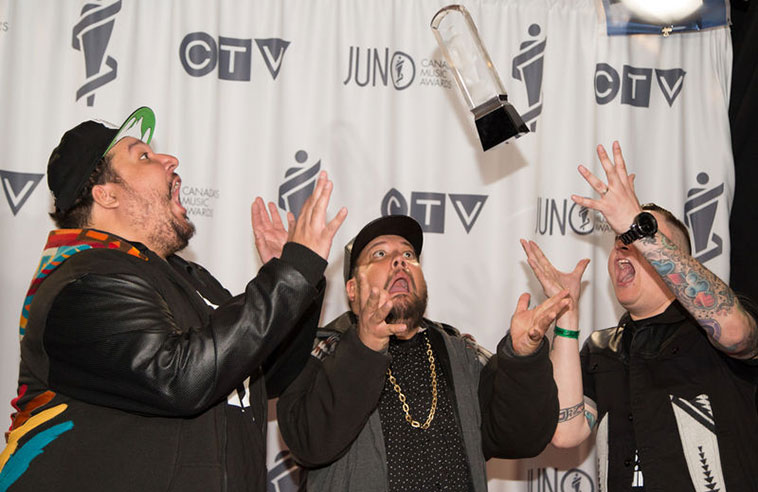 BEAR WITNESS ON THE JUNO WIN AND A TRIBE CALLED RED