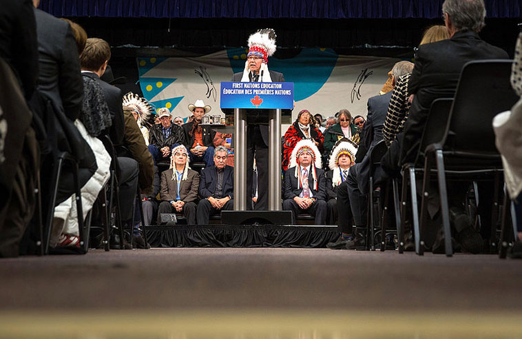 VALCOURT HOLDS THE RATIONS IN FIRST NATIONS EDUCATION