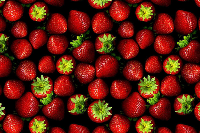 THE BEST STRAWBERRIES I EVER HAD…