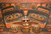 HAIDA MASTER CARVER CHARLES DA.A XIIGANG EDENSHAW AT MCMICHAEL CANADIAN ART COLLECTION