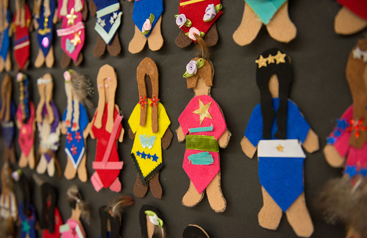 FACELESS DOLLS PUT A FACE ON MISSING AND MURDERED INDIGENOUS WOMEN IN SCHOOLS
