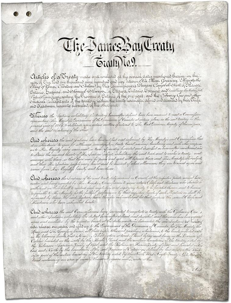James Bay Treaty 9