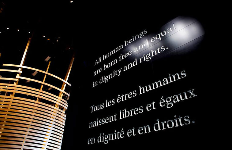 THE QUESTION OF GENOCIDE AT THE CANADIAN MUSEUM FOR HUMAN RIGHTS