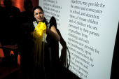 MARIA HUPFIELD PRIES OPEN MUSEUM CASE WITH PERFORMANCE ART AT THE MCCORD