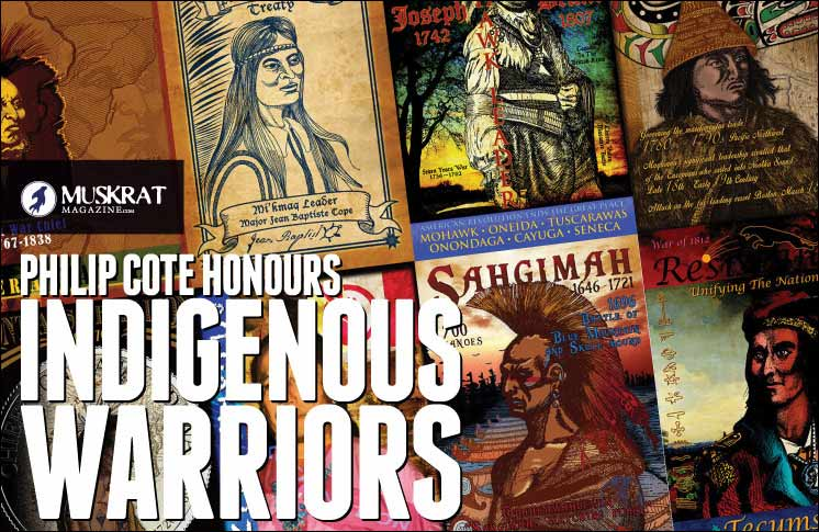 PHILIP COTE HONOURS INDIGENOUS WARRIORS
