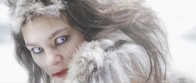 Tanya Tagaq in Tungijuq, a thought-provoking meditation on the seal-hunt and what it means to the traditional way of life for the Inuit.
