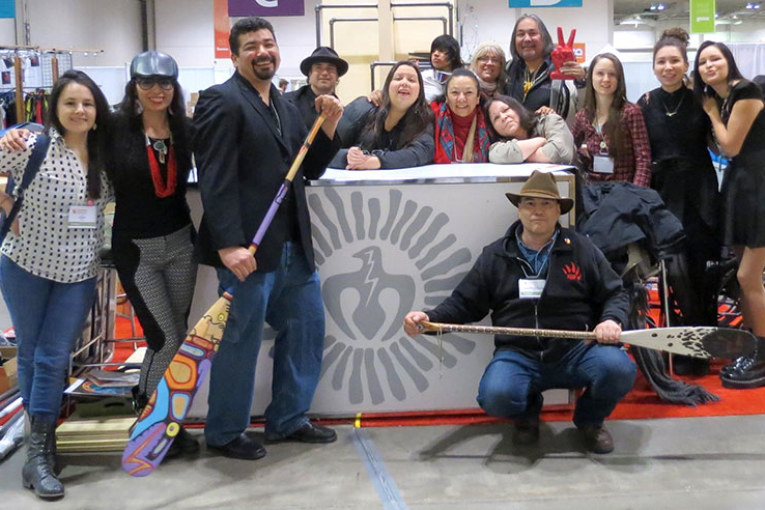 INDIGENOUS ARTISTS MAKE A SPLASH AT THE FIRST EVER THUNDERBIRD MARKETPLACE AT THE ONE OF A KIND SPRING SHOW