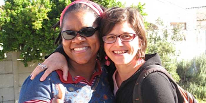 Vivienne Budaza (left) Carol Lynne D'Arcangelis (right)