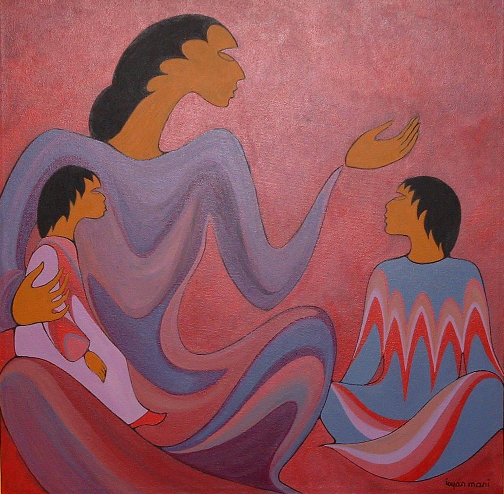 Painting:Ancestral Teachingsby Maxine Noel/Ioyan Mani