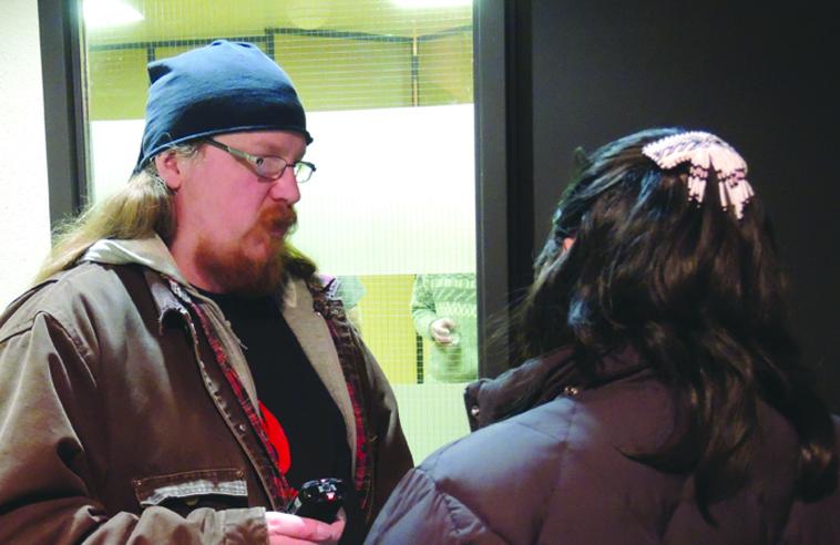 Curator Clayton Windatt. Photo: Amy Desjarlais