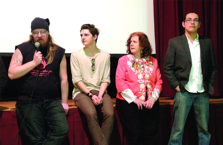 Clayton, Alek, Lulu, and Lindsay Photo: Amy Desjarlais.