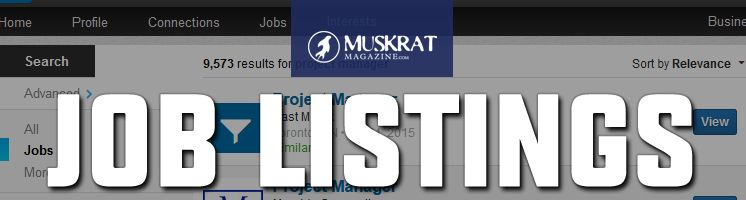 Job Listings Header