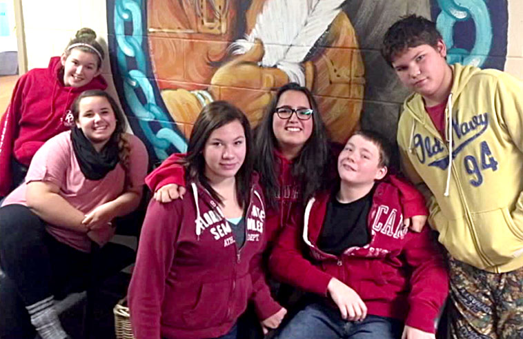 QUINTE MOHAWK STUDENTS CALL FOR CHANGE THROUGH SONG