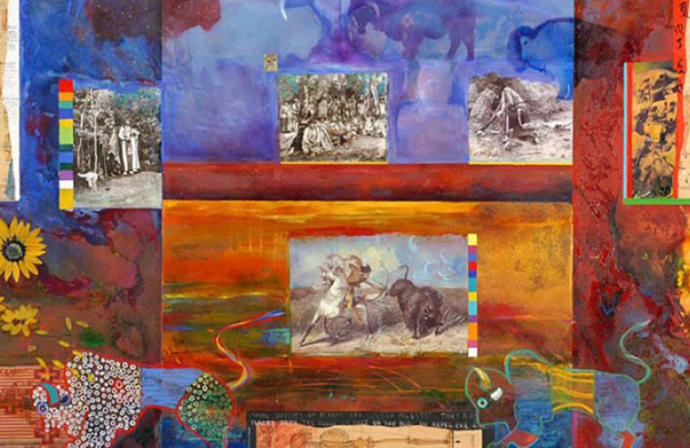 HONORARY DEGREE FOR JANE ASH POITRAS + A MAJOR SHOW OF HER ART COMING