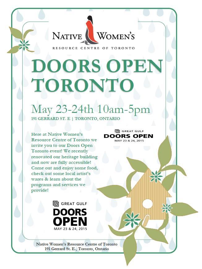 Doors Open Toronto Poster - NWRCT