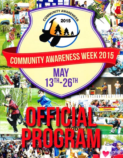 Official Program - Six Nation's Community Awareness Week 2015