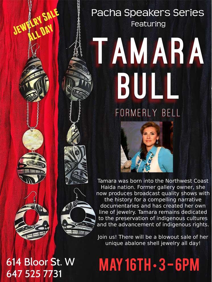 TALK WITH TAMARA BULL
