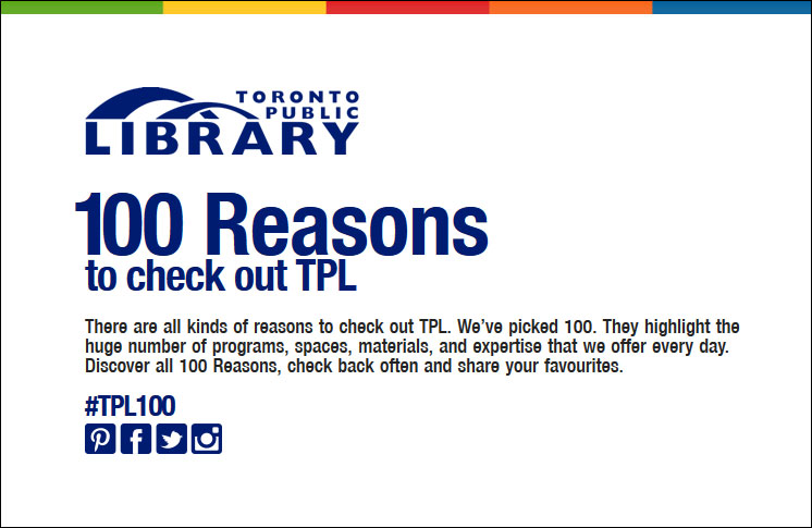 ABORIGINAL HISTORY MONTH AT THE LIBRARY.  A REASON TO CHECK OUT THE TPL