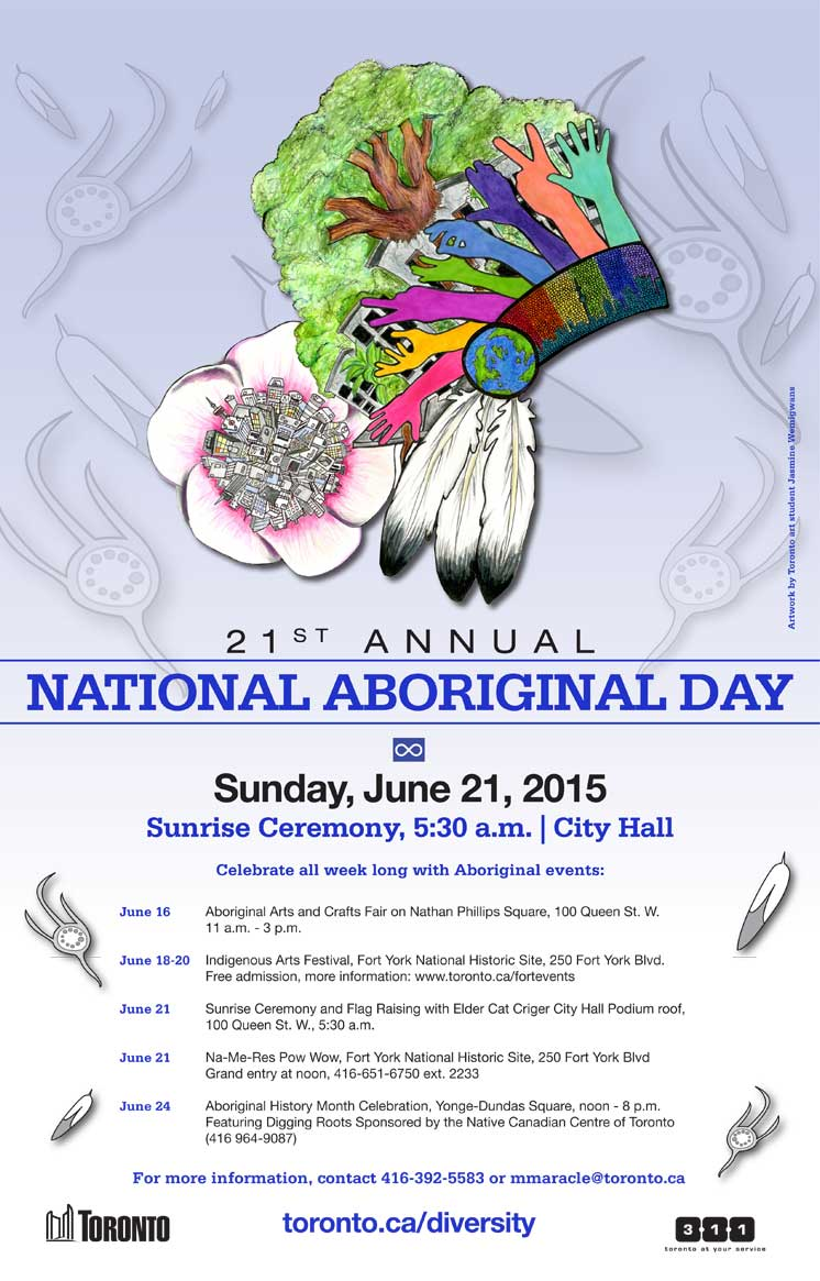 21st Annual NAD Sunrise Ceremony - Toronto City Hall