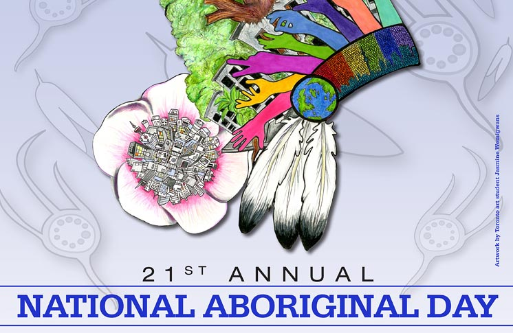 21st ANNUAL NATIONAL ABORIGINAL DAY SUNRISE CEREMONY