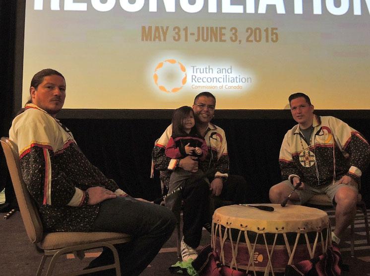 3 Drummers Algonquins of Pikwakanagan