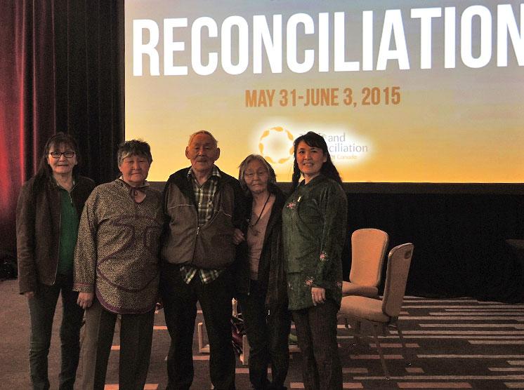 4 Inuit Residential School Survivors