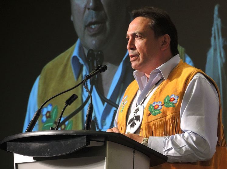 AFN National Chief Perry Bellegarde