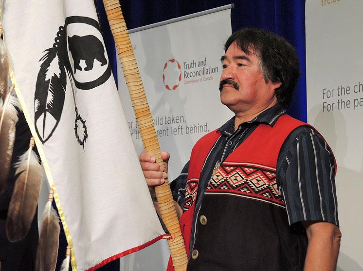 Chief Kirby Whiteduck Algonquins of Pik