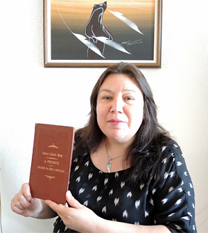 Crystal Sinclair Holding Book