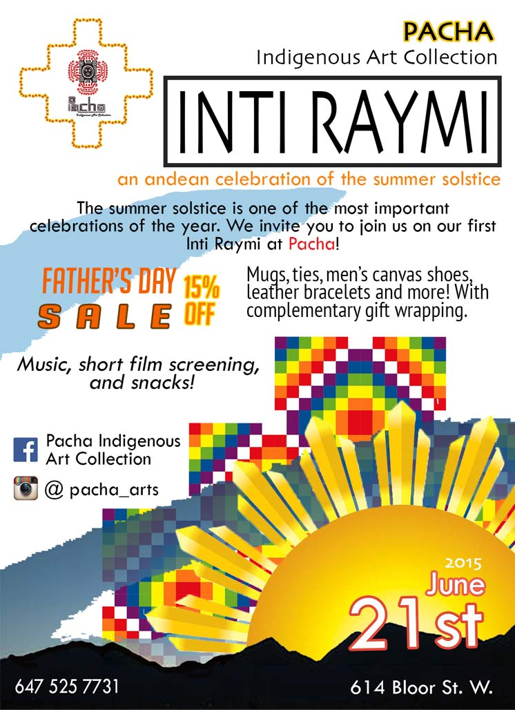Inti Raymi - Pacha Indigenous Art Collection Poster