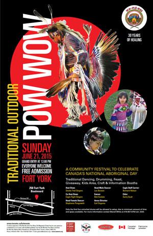 Na-Me-Res Pow Wow 2015 Poster