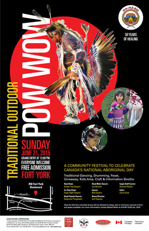 Na-Me-Res Pow Wow 2015 Poster