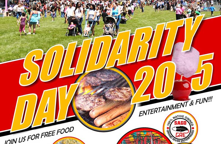 SOLIDARITY DAY 2015 EVENT – SIX NATIONS OF THE GRAND RIVER