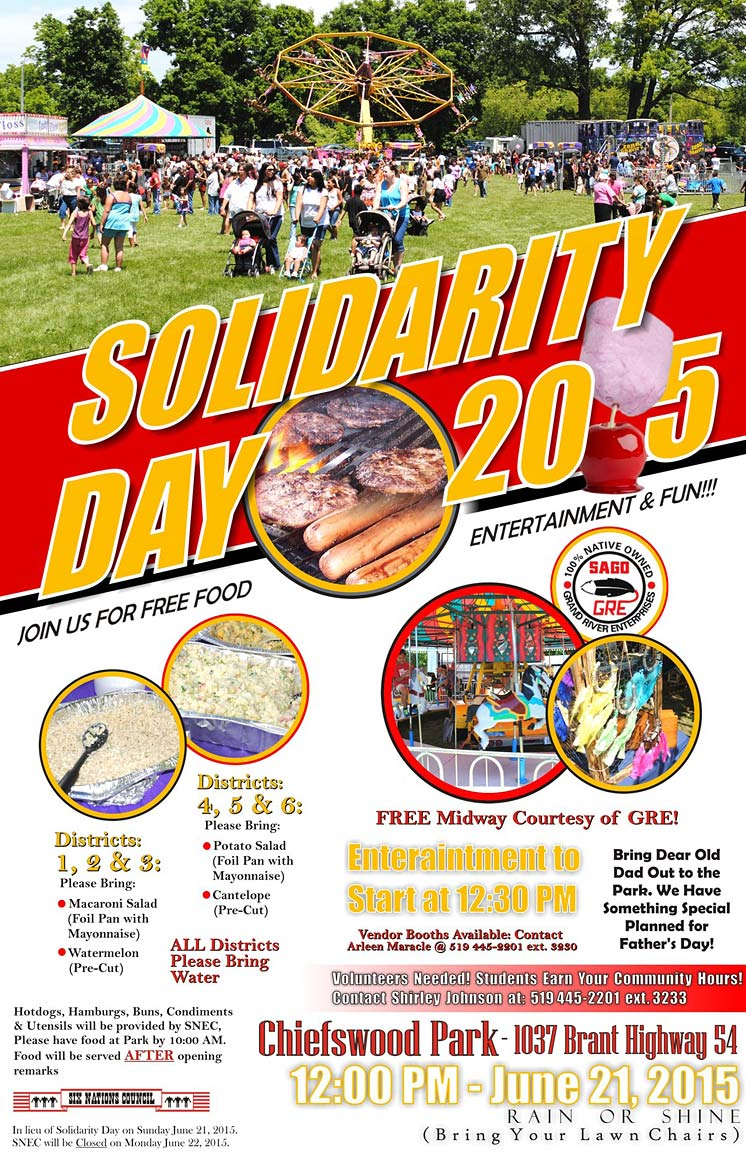 Solidarity Day 2015 Poster - Six Nations