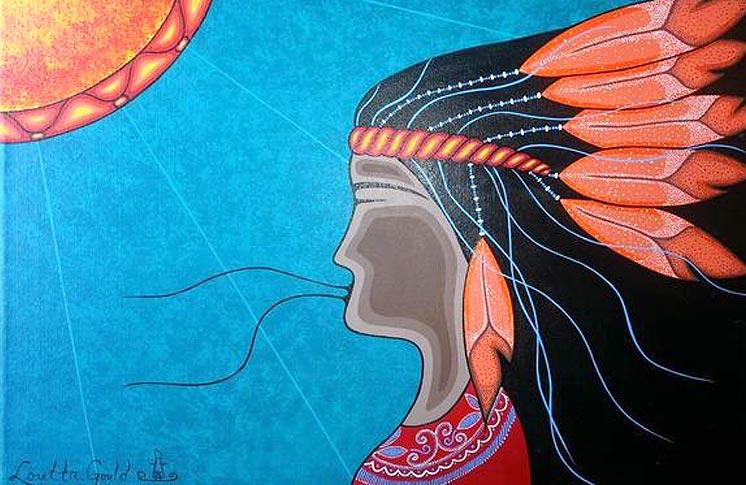 FEATURED VENDOR OF THE ABORIGINAL PAVILION: LORETTA GOULD
