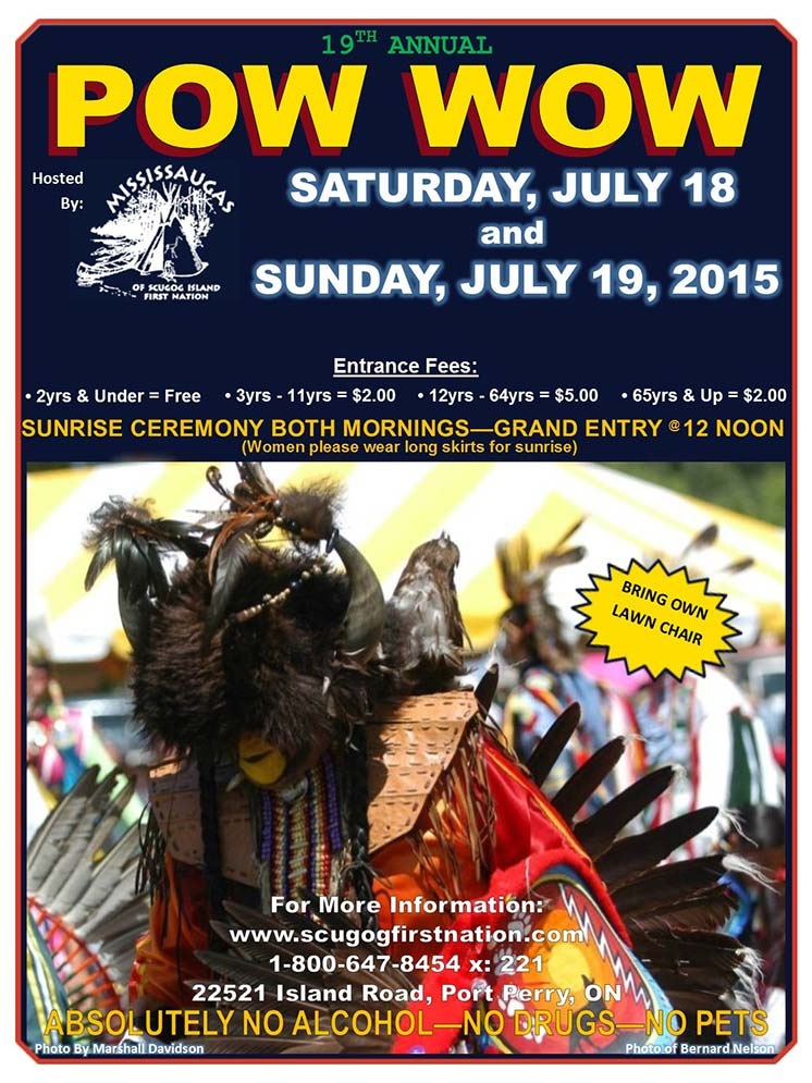 19TH ANNUAL POW WOW - MISSISSAUGAS OF SCUGOG ISLAND FIRST NATION ...