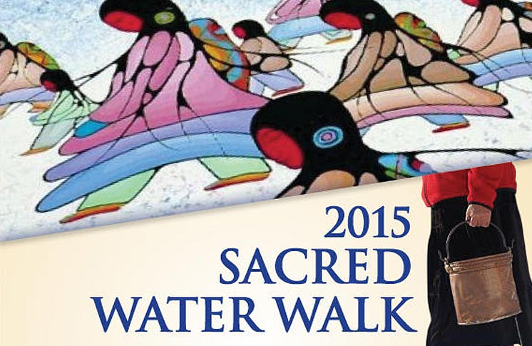 WELCOMING THE SACRED WATER WALK 2015 – TORONTO, ON