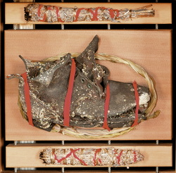 The child's boot from Carcross, YK | Image Source : artopenings.ca