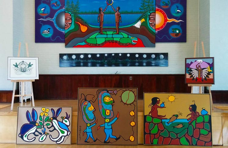 OPEN GALLERY PRESENTATION – PREVIEW NORVAL MORRISEAU