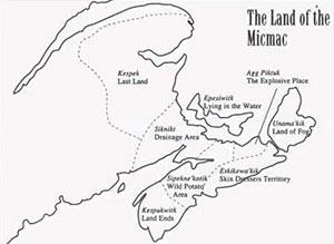 Mi'k Maq Districts