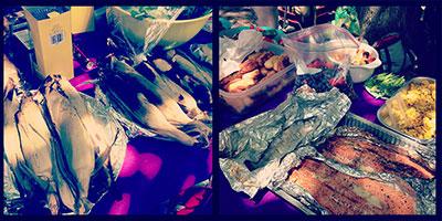 Potluck Meal at Setsune Fashion Incubator