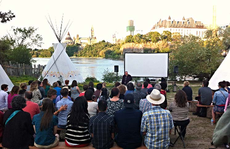 ASINABKA FESTIVAL: OPENING NIGHT OUTDOOR FILM SCREENING