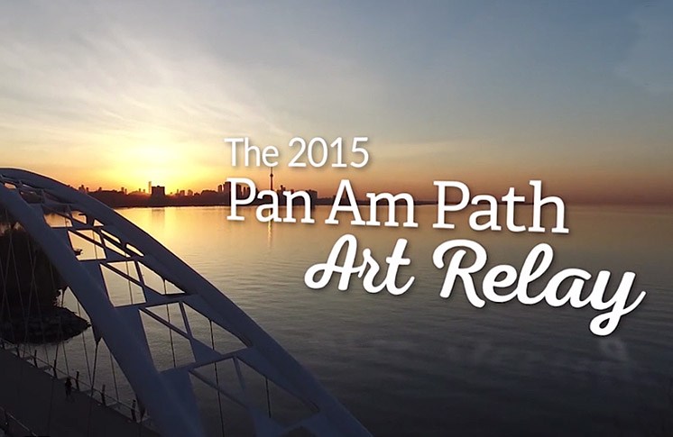 AUGUST 15: SPECTACULAR GRAND FINALE OF THE PAN AM PATH ART RELAY AT ROUGE BEACH FEATURES INTERNATIONALLY- ACCLAIMED FIRST NATIONS ARTISTS