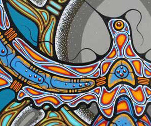 Jay Bell Redbird Painting