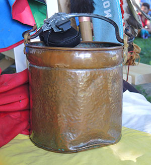 The Sacred Water Walk 2015 Pail
