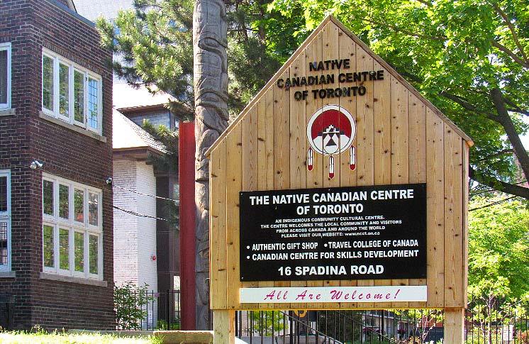 NATIVE CANADIAN CENTRE OF TORONTO