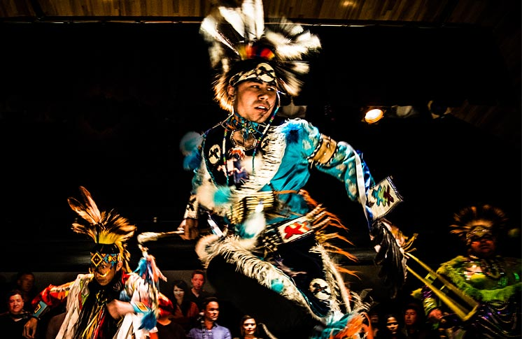 Dancers from Making Treaty 7